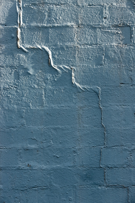 A cracking exterior wall